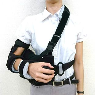 図7:術後の装具